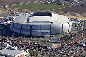 University of Phoenix stadium, site of this ye...