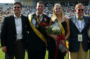 Vanderbilt University Homecoming King and Queen