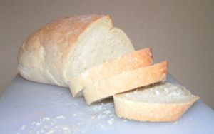 A loaf of white bread. Photo by sannse, 18 Jul...
