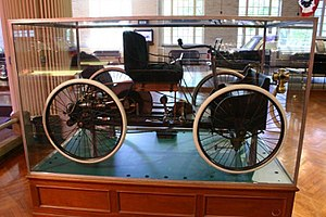 1896 Ford Quadricycle photographed at The Henr...