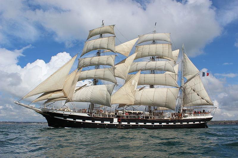 Le Belem à l'Armada de Rouen