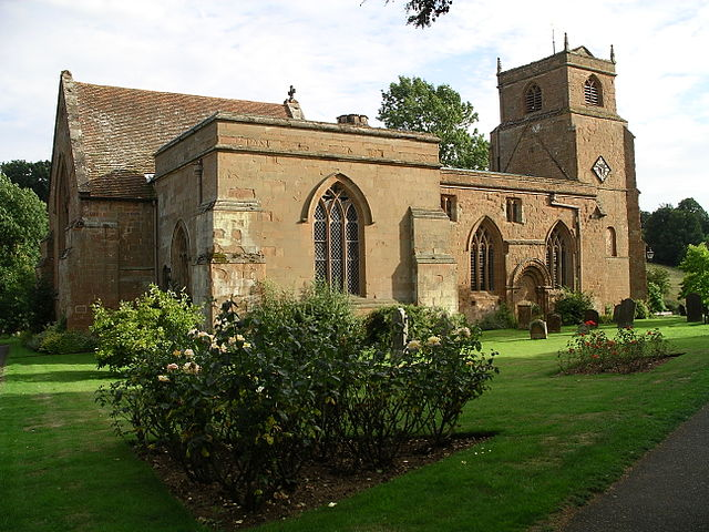 Church of the Virgin Mary, in Stoneleigh, Warwickshire.