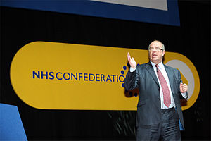 Chief executive of the NHS
