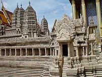Model of Angkor Wat in Thai Palace
