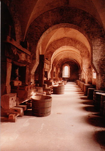 The press room of Kloster Eberbach, a Cisterci...