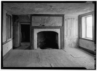 Datei:INTERIOR, FIREPLACE WALL WITH CUPBOARD AND OPENED ...