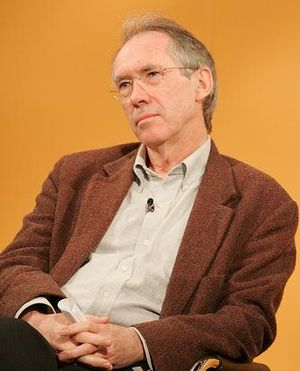 Ian McEwan, British author