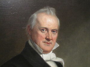 English: I took photo of James Buchanan in Nat...