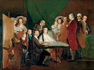 La familia del infante don Luis (1784).