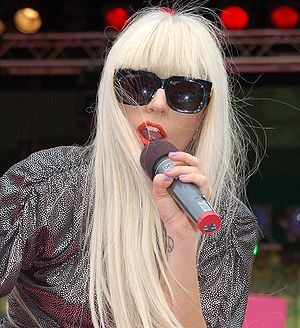 Lady GaGa performing