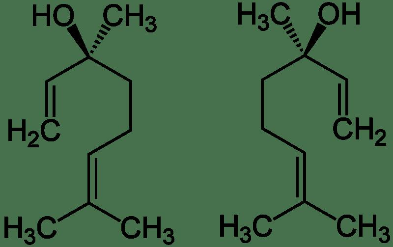 File:Linalool Enantiomers Structural Formulae.png
