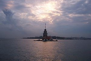 Maiden's Tower taken in Istanbul, Turkey