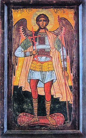 Mchadijvari icon of Archangel Michael