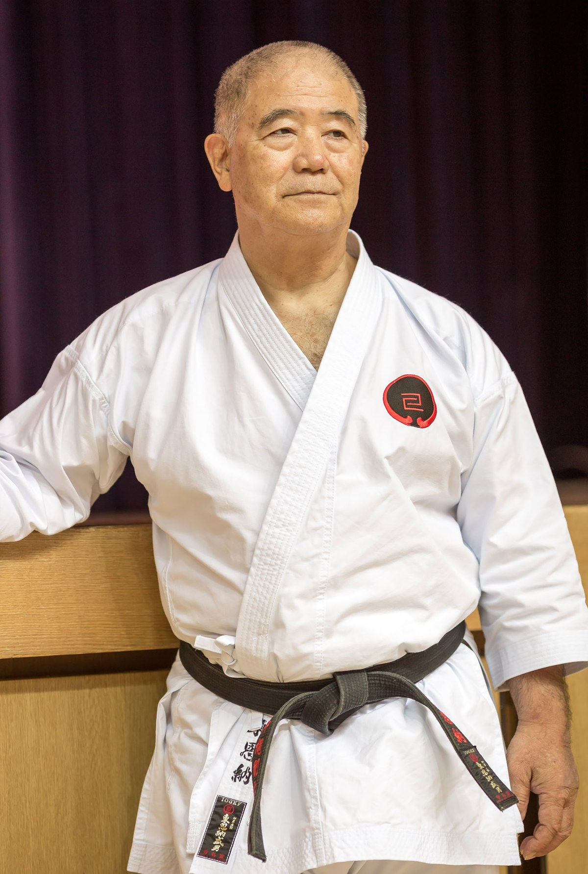 Morio Higaonna  Wikipedia