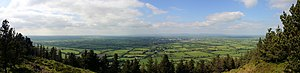 English: Panorama view on Tipperary and surrou...
