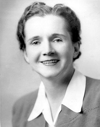 English: Rachel Carson, author of Silent Sprin...