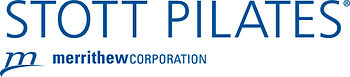 English: This is a logo for STOTT PILATES?(R).