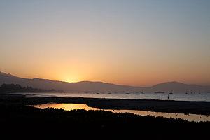 Sunrise in Santa Barbara, California