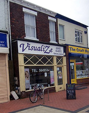 VisualiZe. Situated on Anlaby Road near Wheele...