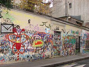 Français : Tags sur la maison de Gainsbarre