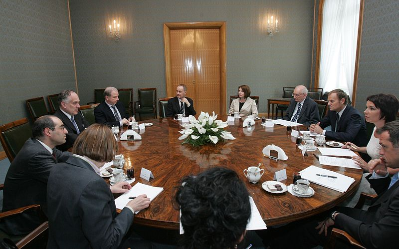 File:2008 World Jewish Congress Delegation meets with Polish PM Donald Tusk.jpg