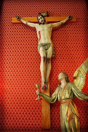 Español: Grupo escultórico del Cristo de la Sa...