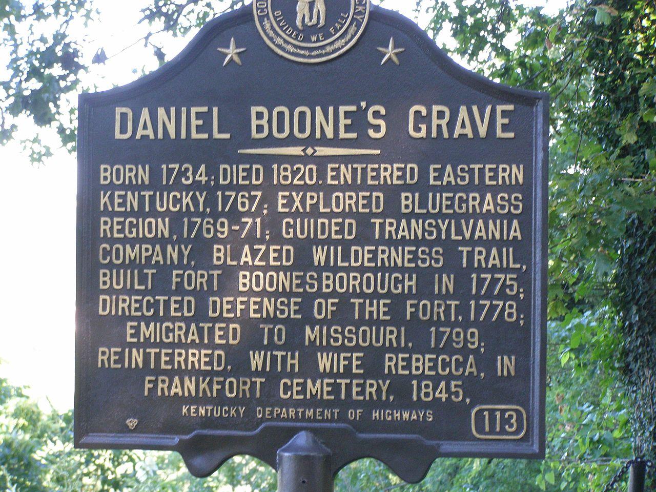 File Daniel Boone S Grave P