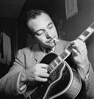 Portrait of Django Reinhardt, Aquarium, New Yo...