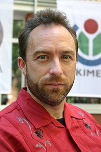 Jimbo Wales, fundador de Wikipedia.