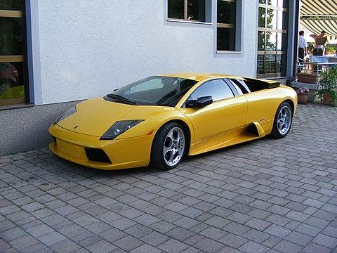 Lamborghini Murcielago front left2