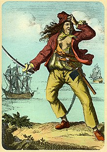 Anne Bonny and Mary Read. Women pirates. The Golde Age of