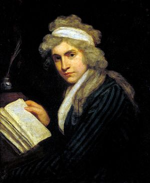 Mary Wollstonecraft, portrait