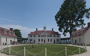 English: Photograph of Mount Vernon, Fairfax C...