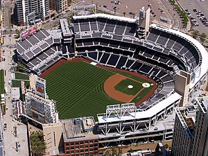 English: A photo of San Diego Padres Petco Par...