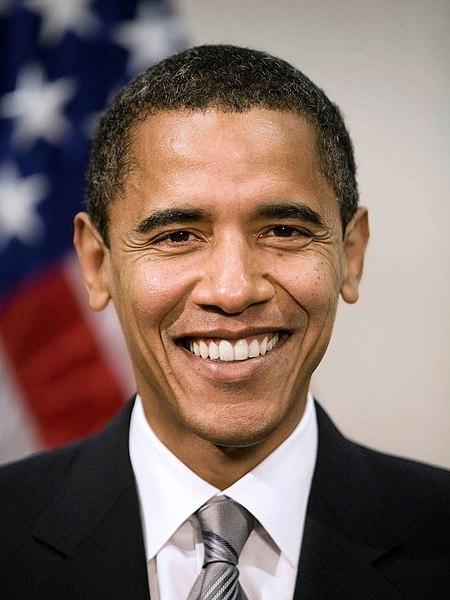File:Poster-sized portrait of Barack Obama.jpg