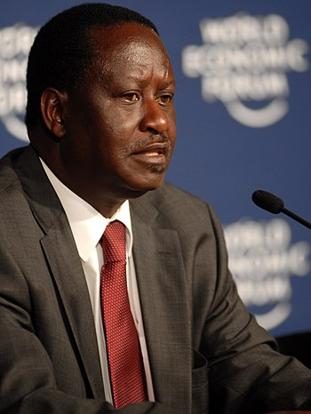CAPE TOWN/SOUTH AFRICA, 10JUN2009 -Raila Amolo...