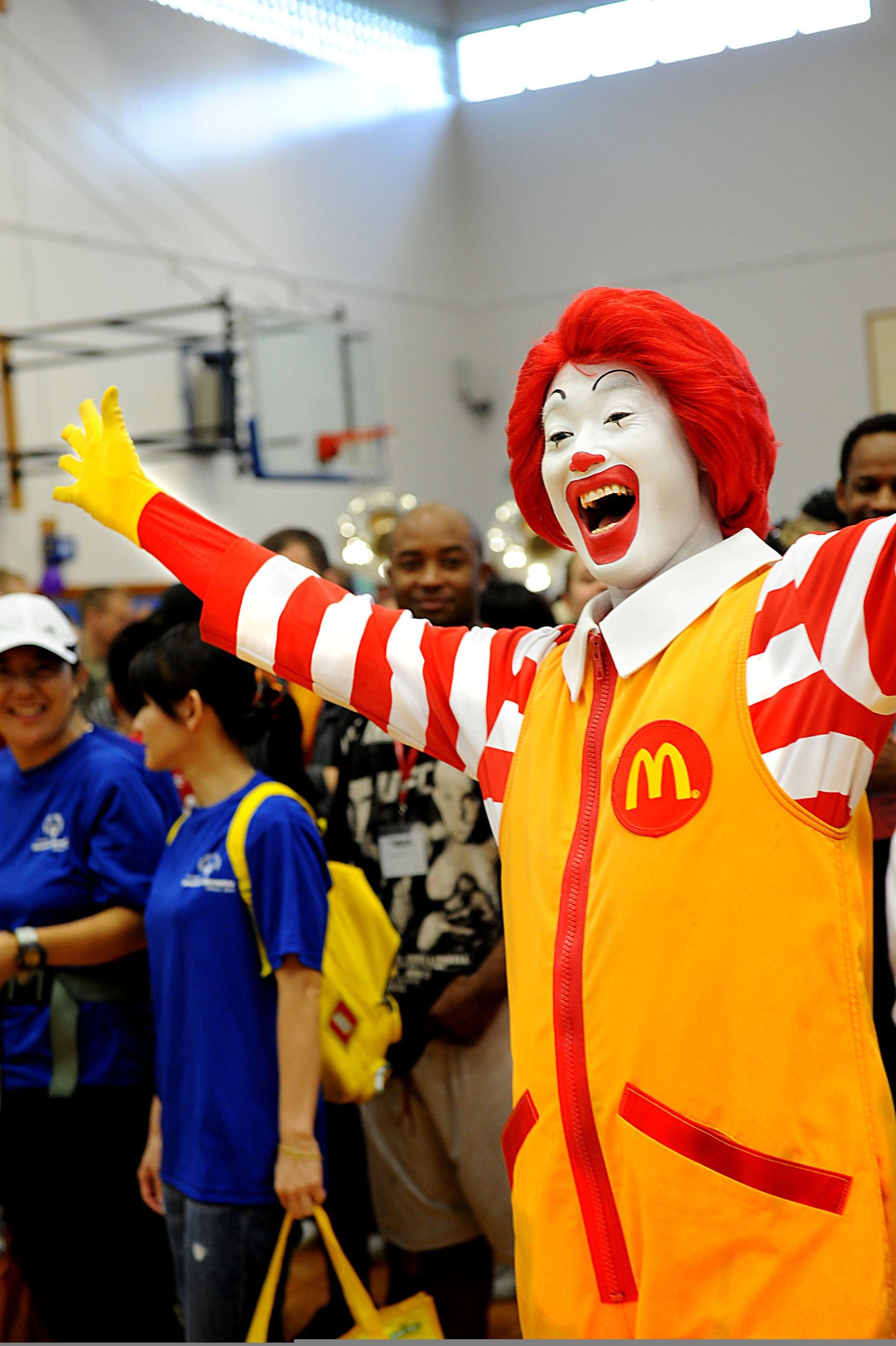 Ronald McDonald - Wikipedia, la enciclopedia libre