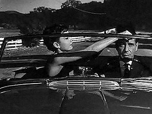 Screenshot of Audrey Hepburn and Humphrey Boga...