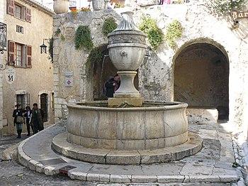 English: Saint-Paul (Saint-Paul de Vence) Fran...