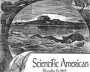"Sea Serpent from ""Scientific American""."