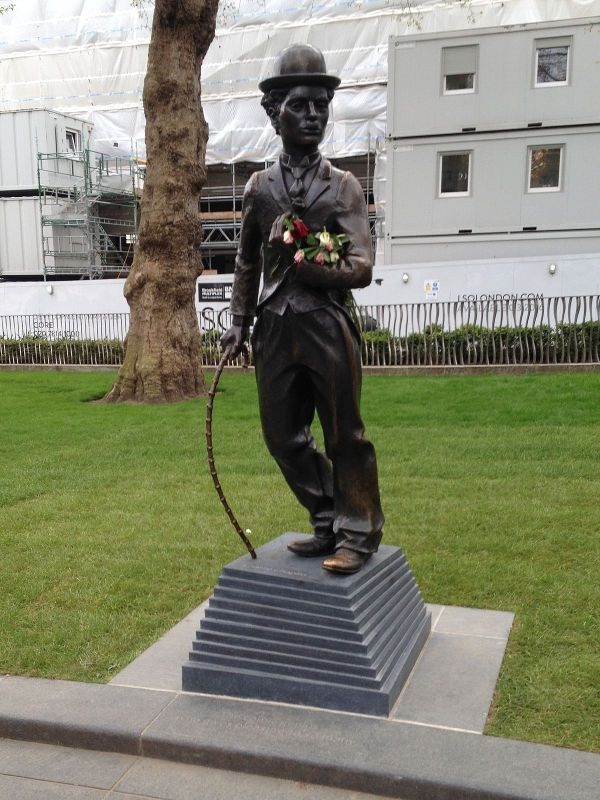 Statue Of Charlie Chaplin London - Wikipedia