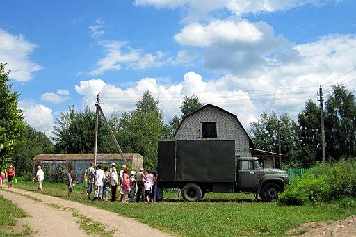 The food truck, Belarus