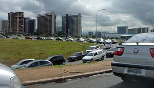 Traffic congestion, Brasilia DF (Plano Piloto)...