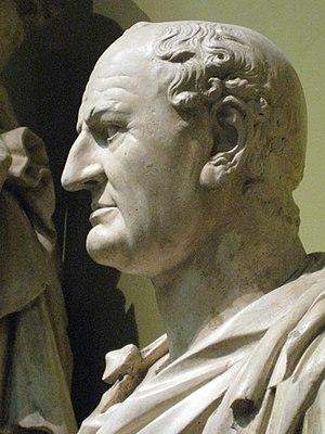 Vespasianus. Plaster cast in Pushkin museum af...