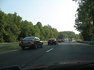 US 301(Robert S. Crain Highway) at Village Dri...