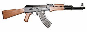 English: AK-47 assault rifle