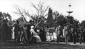 AbdolBaha's knighting ceremony