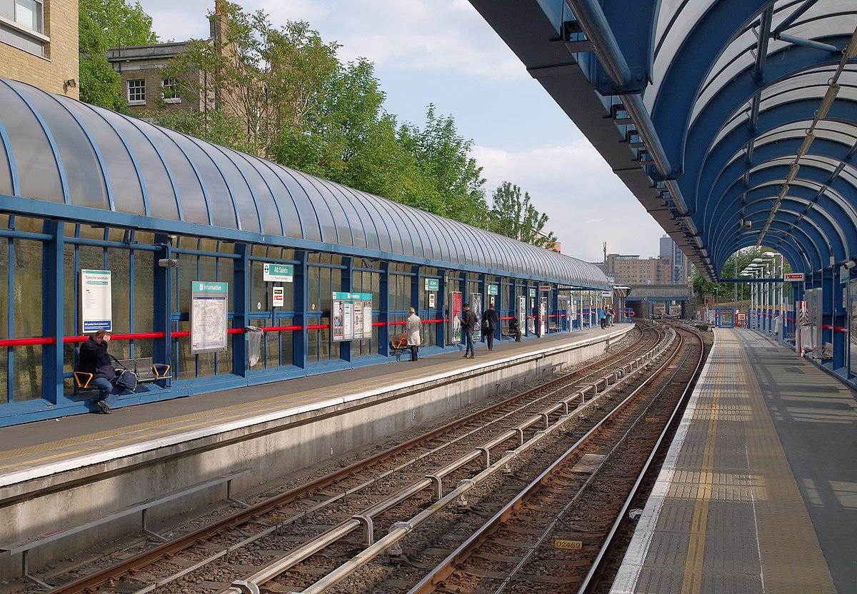 All Saints DLR station  Wikipedia