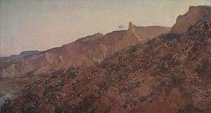 Anzac, the landing 1915 by George Lambert, 192...