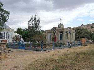 A chapel in Aksum, which is allegedly housing ...